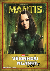 GOTG 2 - MANTIS (nam fullbuster) Tags: guardians galaxy vol 2 poster characters việt hóa nam lê yondu rocket nebula mantis gamora ego drax baby groot ayesha