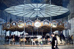 48 Horses & 2 Chariots (-»james•stave«-) Tags: newyork nyc brooklyn carousel janewalentas 1922 antique restored magical ornate philadelphiatoboggan company ptc amusementride merrygoround pavilion glass acrylic architecture jeannovel empirefultonferry dumbo eastriver nikon d5300