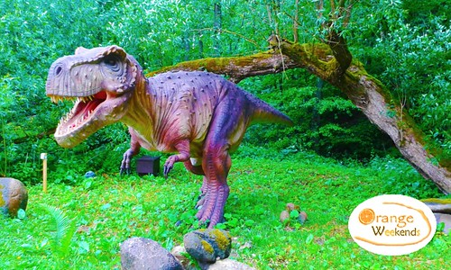 Pastaiga starp Dinozauriem – Dino parkā