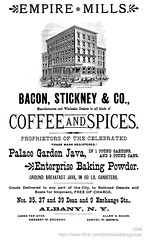 1896 bacon stickney spices (albany group archive) Tags: albany ny history vintage 1896 bacon stickney spices palace garden java dean exchange street coffee old historic historical photos