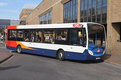 CAMBUS 37223 SN64OKZ PETERBOROUGH 110417 (DavidsTransportPix) Tags: sn64okz alexanderdennis e200 enviro200 singledeckerbus cambus stagecoachinpeterborough citi