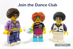 Join the Dance Club (WhiteFang (Eurobricks)) Tags: lego collectable minifigures series city town space castle medieval ancient god myth minifig distribution ninja history cmfs sports hobby medical animal pet occupation costume pirates maiden batman licensed dance disco service food hospital child children knights battle farm hero paris sparta historic