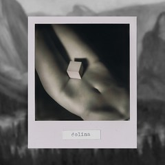 dolina / valley (☐ geometryczny) Tags: valley girl woman nude cube womb geometric blackandwhite whiteframe impossibleproject studiophotography polaroid slr680 analogue instantphotography