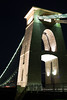 MRP_0297 (preedyphotos) Tags: bristol avon martinpreedy canon eos1dx clifton suspensionbridge nighttime traffictrail brunel bridge pillars night evening twilight river fulltide reflections