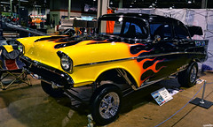 Flying High (Chad Horwedel) Tags: flyinghigh 1957chevy chevrolet chevy classic car gasser flames custom wow17 worldofwheels donaldestephensconventioncenter rosemont illinois
