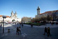 Old Town Square, Prague (kalakeli) Tags: staroměstskénáměstí oldtownsquare oldtownsquareprague prag prague praha märz march 2017 altstädterring