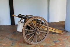 Small Cannon (Piedmont Fossil) Tags: goliad state park texas mission espiritu santo cannon artillery