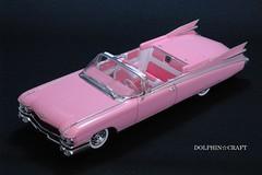 1959 Cadillac ELDORADO BIARRITZ 7 (DOLPHIN☆CRAFT) Tags: プラモデル モノグラム コンバーチブル ビアリッツ エルドラド キャデラック monogram convertible biarritz eldorado cadillac 1959