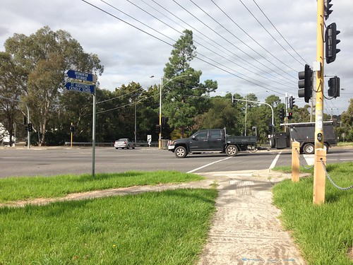 Intersection of Green Gully Road and Old Calder Highway, Keilor