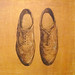 """Chicago Shoes 24""""x24"""""""