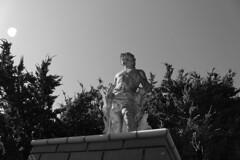 Grim Statue (dougiemason) Tags: architecture statue dystopia