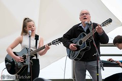 'POPPY AND FRIEND' (tonyfletcher) Tags: musicport musicportwhitby openmic whitbypavilion whitby livemusic acousticmusic acoustic guitar poppy