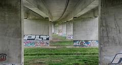 Under the bridge 1 (twan-k5) Tags: arnhem brug pley