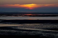 Föhr Sonnenuntergang (Cologne-Soul) Tags: natur nature sonnenuntergang sundown föhr utersum landscape landschaft sunset ocean beach strand water wasser