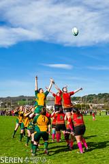 2017:03:25 14:14:31 (serenbangor) Tags: 2017 aberystwyth aberystwythuniversity bangoruniversity seren studentsunion undebbangor varsity rugby rugbyunion sport womens