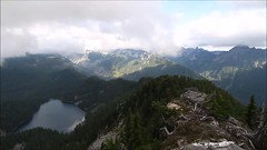Time lapse on Mount Price - Part 2 (johnwporter) Tags: hiking scramble climbing mountainclimbing mountaineering cascades mountains nationalforest mtbakersnoqualmienationalforest alpinelakeswilderness wilderness mtprice mountprice 徒步 爬行 攀登 爬山 登山 喀斯喀特山脈 山 國家森林 貝克山史諾夸米國家森林 高山湖泊荒野區 荒野 普萊斯山 atx116prodx tokinaaf1116mmf28 wideangle wideanglelens 廣角 廣角鏡 vide 影片 timelapse 縮時 timelapsephotography 縮時攝影