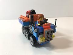 Yuso (KGoodlow) Tags: truck troop transport treads lego half track