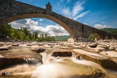 Ponte Gobbo (dria78) Tags: nd1000 bobbio nikon d700 ponte vecchio gobbo bridge acqua water afs1735mm andreamasala haida