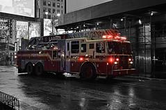 Ladder 4 (Mikesch.75) Tags: kunst fotokunst art photoart ladder4 fdny new york newyork manhatten feuerwehr fire firedepartement firetruck firestation auto feuerwehrauto station unitedstates usa