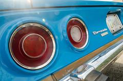 I had to turn my heart away (GmanViz) Tags: gmanviz color car automobile detail nikon d7000 1973 plymouth barracuda taillights bumper decklid license plate lensflare