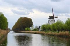 Damse Vaart (Brian Aslak) Tags: damsevaart damme vlaanderen westvlaanderen flandres flanders belgië belgium belgique europe canal windmill