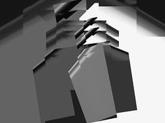 flying grey (j.p.yef) Tags: peterfey jpyef yef abstract abstrakt digitalart bw sw monochrome