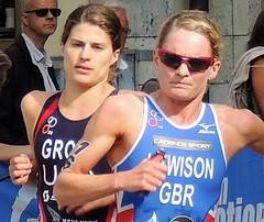 Triathlon women runners (bokage) Tags: stockholmtriathlon sweden stockholm sport runner running bokage gamlastan oldtown woman