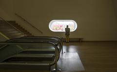 Perspective (‹ Wim ›) Tags: stedelijkmuseumamsterdam overview wimgoedhart goedhartontwerp nikon sigma minimalist interior window escalator toeschouwer spectator viewer watcher staircase amsterdam perspective