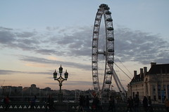 London Eye (chrisinphilly5448) Tags: london uk england housesofparliament bigben evening sundown londoneye
