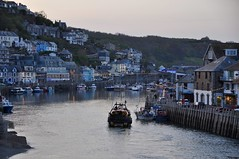 Paravel (mark1830) Tags: fishingboat looeharbour kernow cornish town looe tide lights evening quay fishing sea west