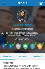 Lucy's Profile Cropped (restupmobile) Tags: personalcareassistant homecaregiver trust seniorwoman aging assistedliving athome care healthcare caregiver carer nurse