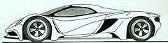 Various bespoke car designs (diecast scale car station) Tags: pininfarina giuogiaro bertone car design studios designer 2015 ferrari laferrari 458 488 gtb p4 lamborghini countach aventador sv miura reventon veneno bugatti veyron pagani huayra zonda porsche carrera 918 917 vector w2 w8 corvette stingray 2016 mustang 2017 ford gt kyosho auto art minichamps 118 diecast delahaye delage supercars osten jaguar mclaren m20 can am p1 f1 f16 f15 centenario mercedes amg red bull x2010