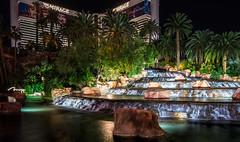 The Mirage (jn3va) Tags: mirage hdr fountain nevada night palmtrees lasvegas nv tokina d5500 nikon