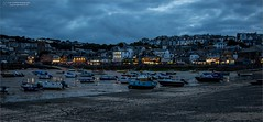 Night Life by the sea (Ian Garfield - thanks for over 1 Million views!!!!) Tags: cornwall ian garfield photography south west coast cornish st ives beach bay harbour boat boats sand waves tate landscape outdoor shore seaside