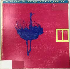 Catálogo da 2ª Bienal de Design Gráfico ADG - 94 (Érico Lebedenco) Tags: adg brasil design gráfico graphic mostra expo exposição bienal 2ª 1994 94 br