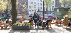 DSCF2288.jpg (amsfrank) Tags: candid amsterdam rivierenbuurt prinsengracht marcella cafe bar marcellas terras sun people tourists