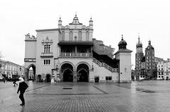 Rynek Główny. Krakow, Poland (Luke Hasnotenough) Tags: krakow poland polska ilford film bw