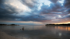Pressure D7C_3607 (iloleo) Tags: clouds sunset florida bonitasprings beach solitude nature gulfofmexico colourful landscape nikon d750 vista