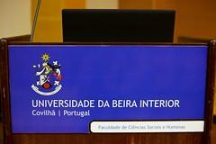 Maria Luís Albuquerque na Universidade da Beira Interior