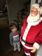 "Paul Plays with Santa at Grandma and Grandpa Miller's • <a style=""font-size:0.8em;"" href=""http://www.flickr.com/photos/109120354@N07/34471610255/"" target=""_blank"">View on Flickr</a>"