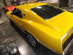 """1969  Ford Mustang Mach 1 • <a style=""""font-size:0.8em;"""" href=""""http://www.flickr.com/photos/85572005@N00/8750548111/"""" target=""""_blank"""">View on Flickr</a>"""