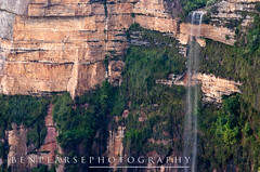 Bridal Veil Falls study (benpearse) Tags: blue mountains waterfall veil blackheath ben australia valley nsw bridal grose pearse