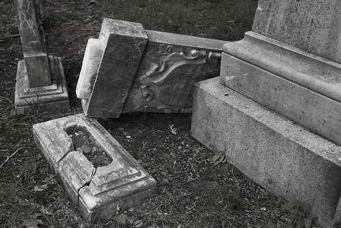 tombstones as sculpture