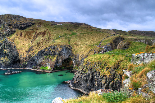 Carrick rope bridge - Northern Ireland