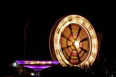 113/365 (Victor Von Dooom) Tags: nightphotography carnival wheel night nikon nightshot ferris ferriswheel carnivalride lighttrail lightpaint d40 lightphotography 365project