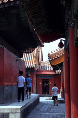 IMG_2925 (AGUI) Tags: china horizontal architecture outdoors photography asia day gray beijing tourist panoramic forbiddencity distant chineseculture capitalcities traveldestinations colorimage famousplace internationallandmark incidentalpeople forbiddencityinbeijingthepast