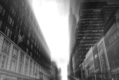 Morning @Empire State (мαяιяѕ) Tags: nyc bw newyork blackwhite cityscape empirestatebuilding