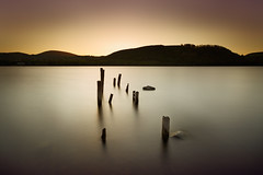 Ullswater (Alistair Bennett) Tags: old longexposure sunset evening nationalpark jetty lakedistrict cumbria ullswater nd30 canonef1740mm4lusm gnd075he