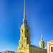 Saint-Petersburg. The Peter and Paul Cathedral. Петропавловский собор. Санкт-Петербург.