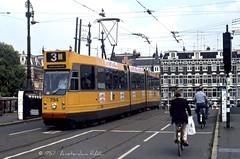 Amsterdam 794 (1987) (Amsterdam RAIL) Tags: street amsterdam bicycle cyclist trolley tram streetphoto streetcar bicyclette tramway amstel strassenbahn fiets tramvaj straat tranvia gvb ceintuurbaan tramvia bicyclettes blokkendoos amsterdamzuid 794 amstelbrug 9g lijn3 gvba gvbamsterdam amsterdamrail gvb794